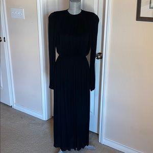 Calvin Klein Black Longsleeve Dress Size 6/8